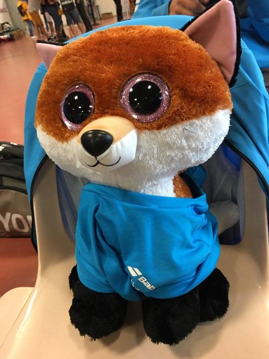 Bernard le renard de Fragonard, la mascotte officielle !!!